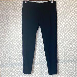 EUC J. Crew Collection Black Ankle Zip Wool Pants